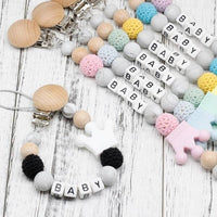 Customized Baby Pacifier Clip