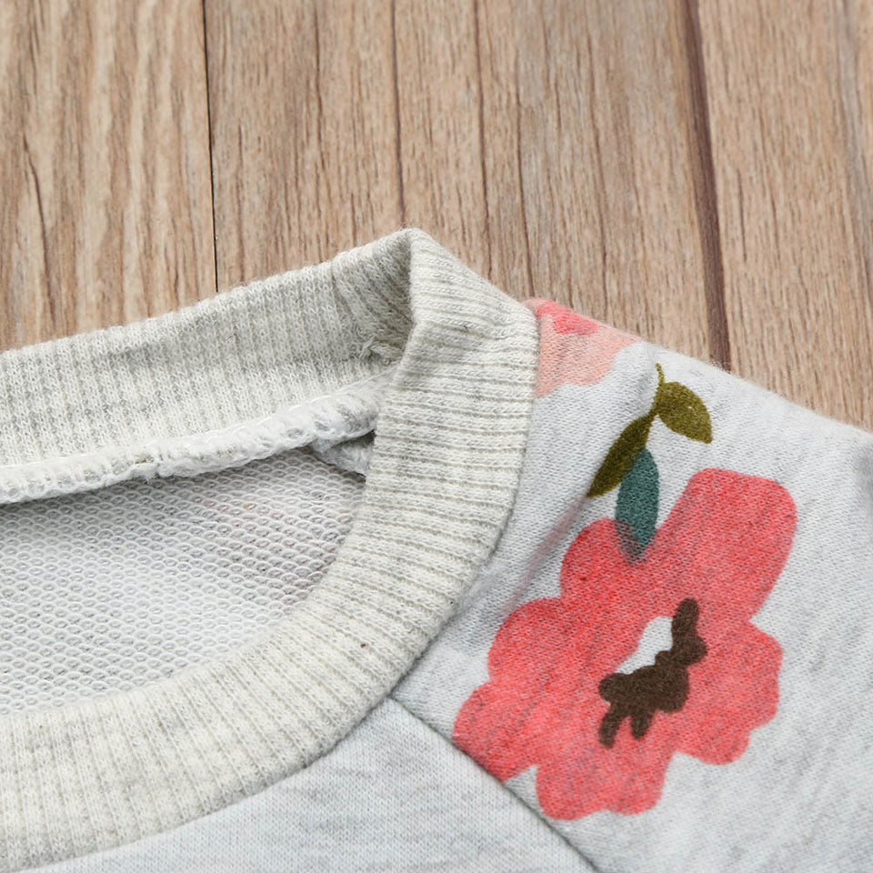 Fashion Flower Sweater - Young Kids