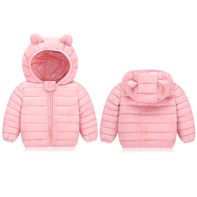 E&C Girls Basic Winter Down Jacket