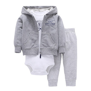 Boys & Girls 3-Pieces Hooded Outfits (20 colours!)