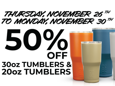 50% OFF - All tumblers