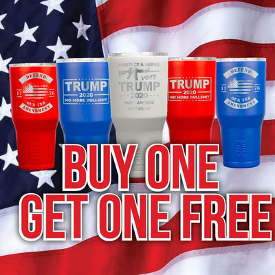 Buy One Get One Free Trump Tumblers