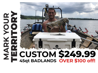 45QT CUSTOM BADLANDS COOLER