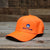 Big Frig Embroidered Pheasant Hat Blaze Orange