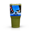 American Flag Bald Eagle Freedom Stainless Steel 30 oz OD Green Tumbler