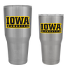Iowa Hawkeyes Banner WordMark Tumbler