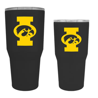 Iowa Hawkeyes Big I TigerHawk Tumbler