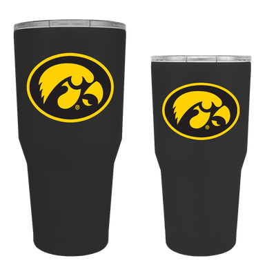 Iowa Hawkeyes TigerHawk Oval Tumbler