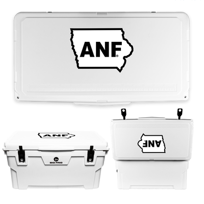 Iowa Hawkeyes ANF State Cooler