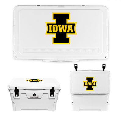 Iowa Hawkeyes Big I Iowa Cooler