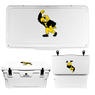 Iowa Hawkeyes Fighting Herky Cooler