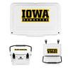 Iowa Hawkeyes Banner Wordmark Cooler