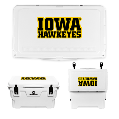 Iowa Hawkeyes Wordmark Cooler