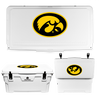 Iowa Hawkeyes Tigerhawk Oval Cooler