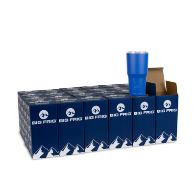 Bulk Order Big Frig 20 oz Royal Blue Tumbler - Case of 24