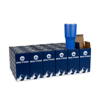 Bulk Order Big Frig 30 oz Royal Blue Tumbler - Case of 24