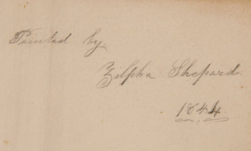 The Schoolgirl Copy Books of Zilpha Shepard (1827-1894)