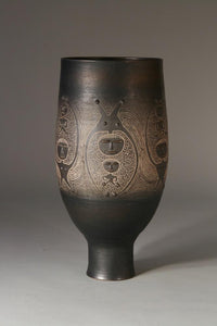 Decorated Chalice by Edwin and Mary Scheier