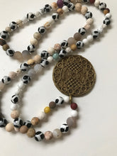 Load image into Gallery viewer, Long necklace with African trade beads - Very similar to 2209