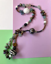 Load image into Gallery viewer, Eclectic Beaded Necklace