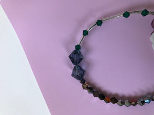 Necklace, Beaded and Faceted in Multiple Styles