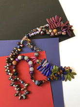 Load image into Gallery viewer, Bohemian style beaded necklace