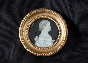 MINIATURE ON IVORY BY MARY WAY