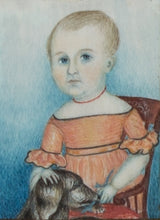 Load image into Gallery viewer, THREE WATERCOLOR ON IVORY PORTRAITS OF GEORGE MEADE STEVENS