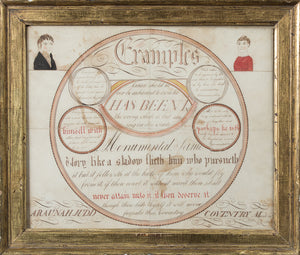A CALLIGRAPHIC DRAWING OF HOMILIES DRAWN BY ARAUNAH JUDD