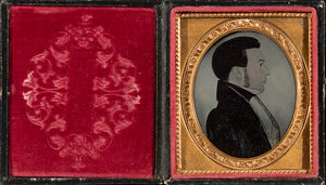 An unusual ambrotype