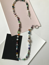 Load image into Gallery viewer, Beaded necklace with wide variety of bead organization