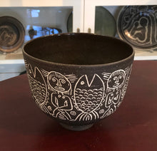 Load image into Gallery viewer, Brown Bowl by Edwin and Mary Scheier