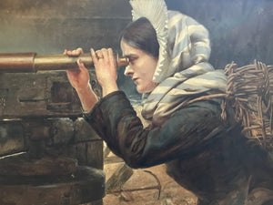Lady with Telescope