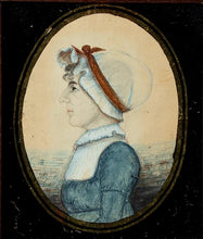 Load image into Gallery viewer, A WOMAN IN A WHITE BONNET BY EDWIN PLUMMER