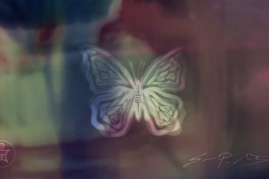 Sean Martorana Butterfly Dance Digital Artwork Sedition Art