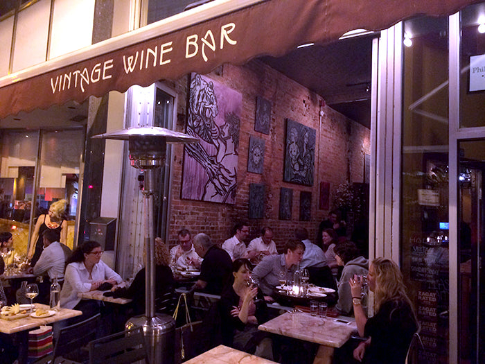Vintage Wine Bar Sean Martorana