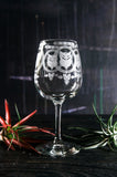 Essence of Life and Line 4 Set Wine Glasses
