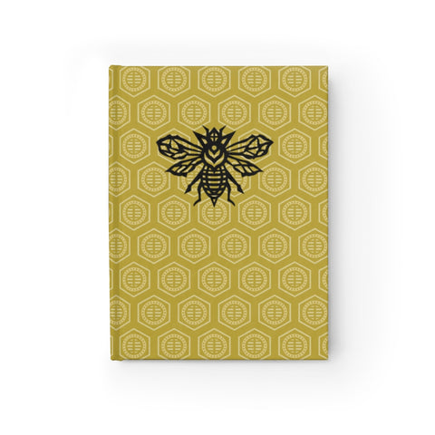 Hive Pattern with Prophet Bee Sketchbook Journal - Blank