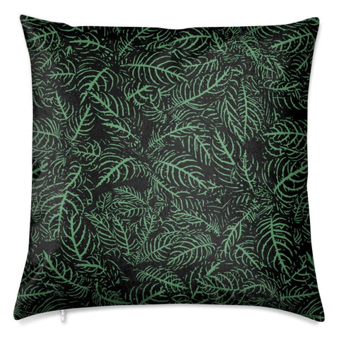 Zebra Plant Velvet Cushion