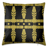 Hawk Feather Velvet Cushion