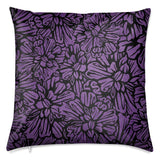 Marigold Pattern Velvet Cushion