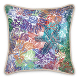 All the Flowers Silk Cushion