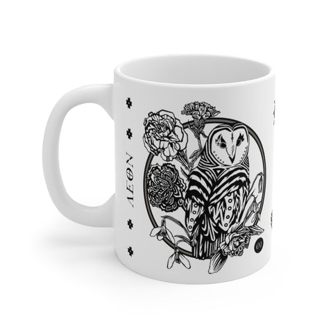 AEON - July, August, September Enamel Mug