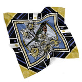 March • (Martius) print silk scarf