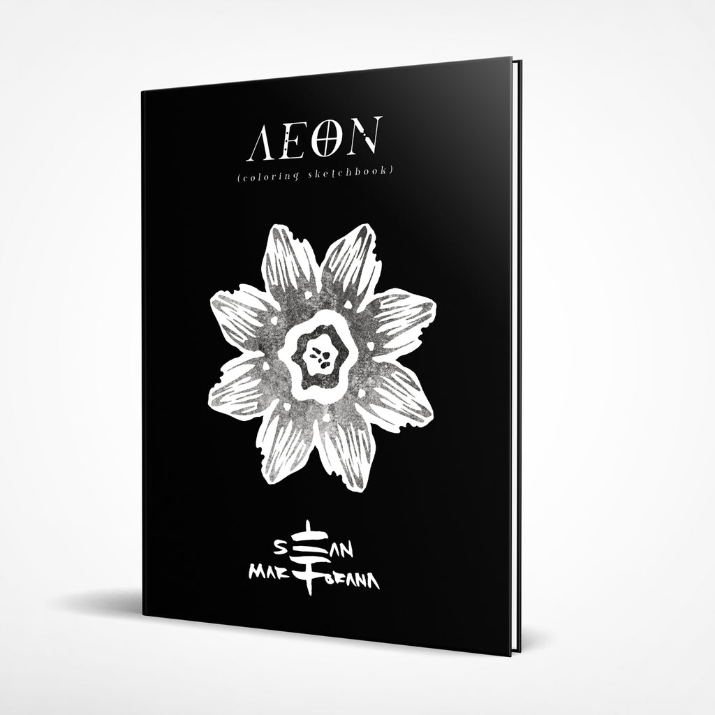 AEON Coloring Sketchbook Hardcover