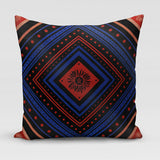 November • (novem) Large Velvet Cushion