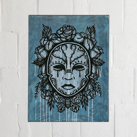 Protected Chalice Drawing - Framed