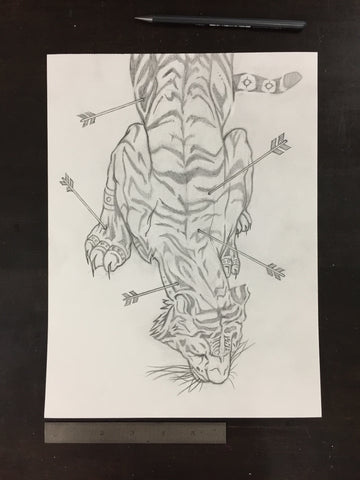 Original drawing #007 - Tiger