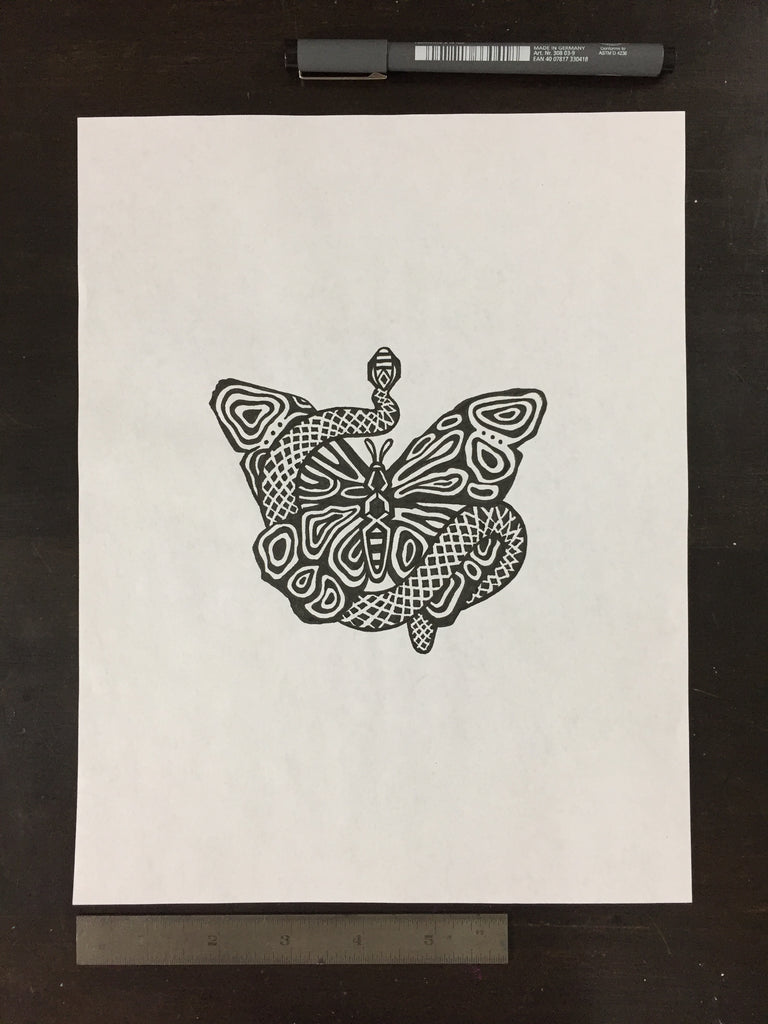 Original drawing #013 - Butterfly