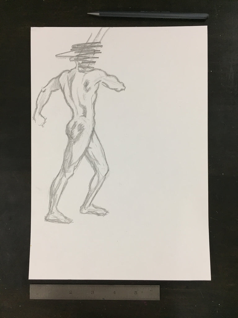 Original drawing #018 - Figure